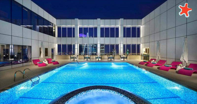 Marriott hotel riyadh court yard new pool - Hotels in riyadh with swimming pools ...